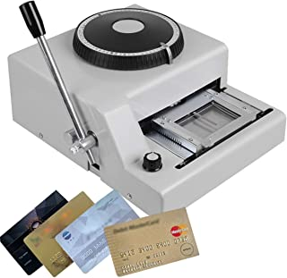 Card Embossing Machine