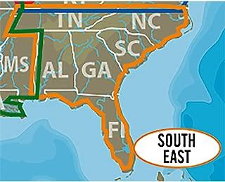 C-MAP LAKE INSIGHT HD – SOUTH EAST US - Coverage Area: AL, FL, GA, NC, SC, TN