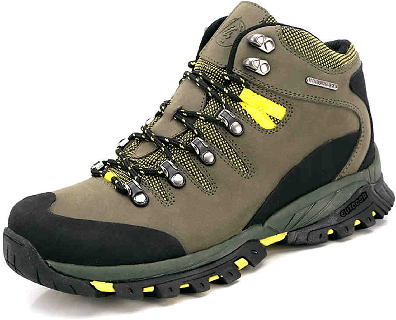 PY Men's Mid-Rise Waterproof Trail Hiking Boot