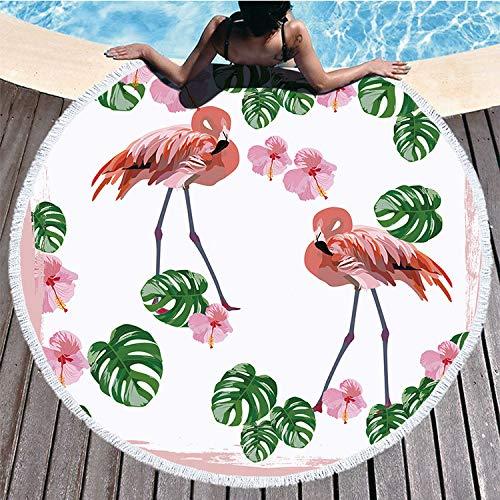 storefront Toalla De Baño De Microfibra Toalla De Playa Flamingo 150 * 150Cm