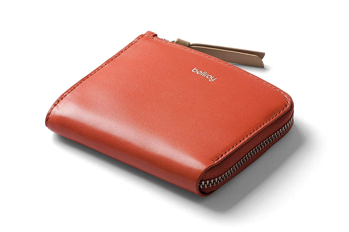 蒸発申込みリズムBellroy ポケット ミニ - ユニセックス コンパクトレザー財布(10枚までのカード、現金)