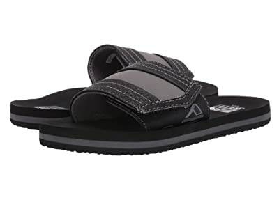 Reef Kids Ahi Slide (Little Kid/Big Kid) (Black) Boys Shoes