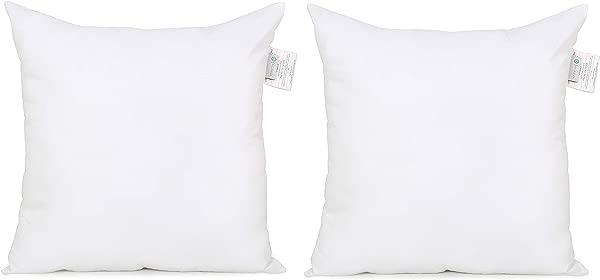 Acanva Soft Down Alternative Pillow Insert 26 X 26 Set Of 2