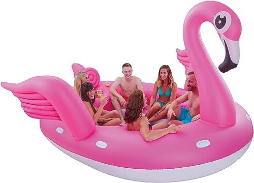 sin mínimo Unbekannt Flamingo - Colchoneta Hinchable para 6 Personas, Diseño Diseño Diseño de flamencos  nueva gama alta exclusiva