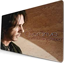 JasonARamirez Rick Springfield Venus in Overdrive Large Mouse Pad,Comfortable Mouse Pad,Suitable for Office,Games