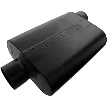 """Flowmaster 43043 40 Series Original Muffler 3/"""" In and 3/"""" Out Silver V8 Turbo"""