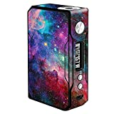 Skin Decal Vinyl Wrap for Voopoo Drag 157W TC Resin/Reg. Vape Mod Stickers Skins Cover/Colorful Space Gasses