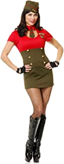Women's Wwii Army Babe Costume Set
