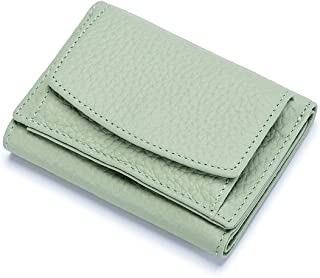 Jiangzhyestqqb Wallet Women, Women's Leather Wallet Small Leather Coin Purse Card Case Large-capacity Money Bag Portable C...