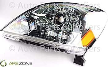 LEXUS GX470 03-09 HEADLIGHT LEFT W/O SPORT OEM 81170-6A070