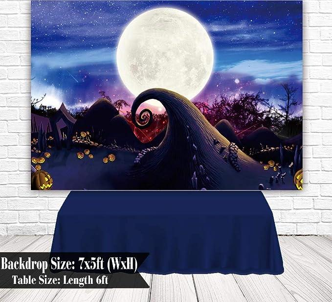 Allenjoy Halloween Hintergrund Happy First Birthday Kamera