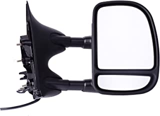 DEDC 1999-2007 Right Passengers Side Power Towing Mirrors Fit For Ford Super Duty F250 F350 F450 1999 2000 2001 2002 2003 2004 2005 2006 2007