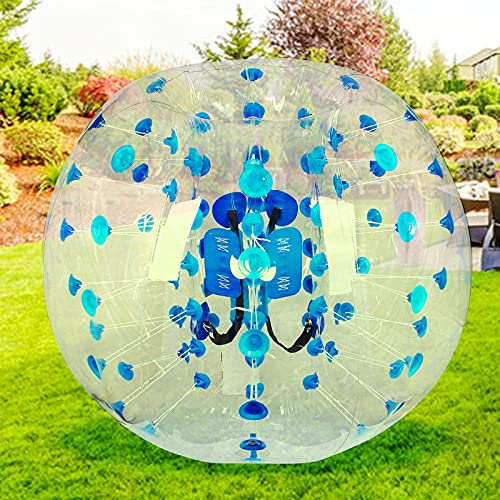 Bumper Bubble Soccer Balls for Adults 5FT/1.5m Inflatable Bumper Ball Giant Human Hamster Body Zorb Ball for Schools, Leisure centres, Parks Outdoor Team Gaming Play