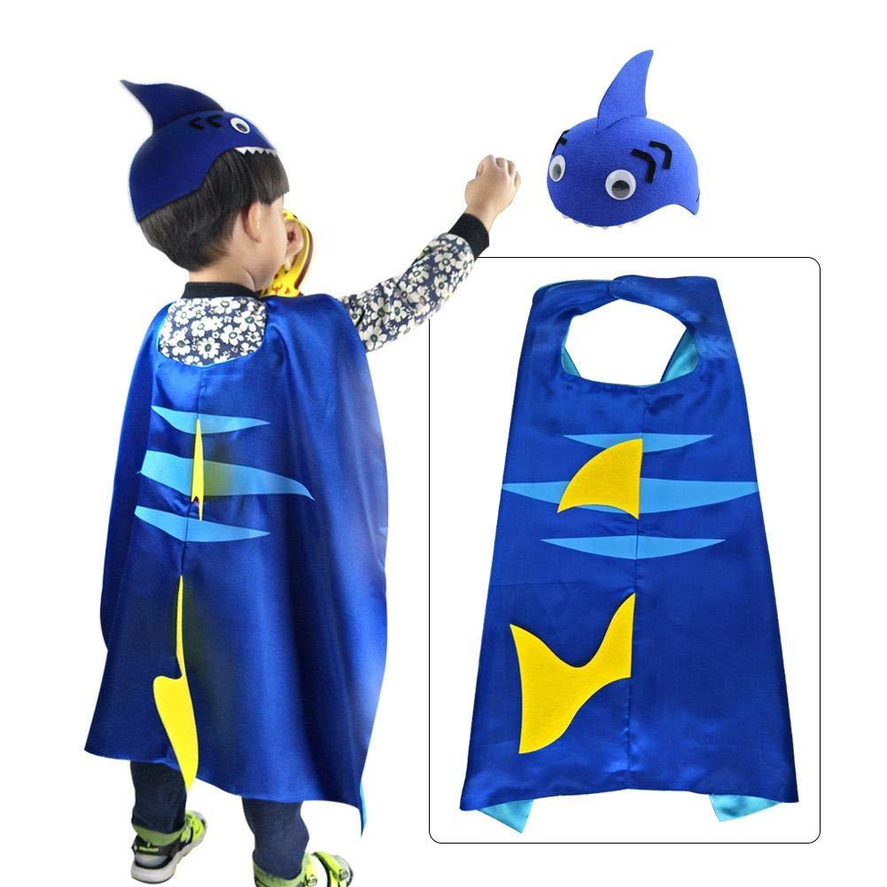 gaeruite Capa de tiburón niños y Disfraces de Disfraces para ...