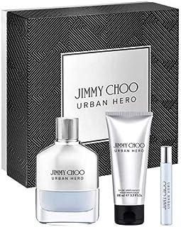 Jimmy Choo Urban Hero for Men Eau de Parfum 100ml+7.5ml+100ml Asb Set