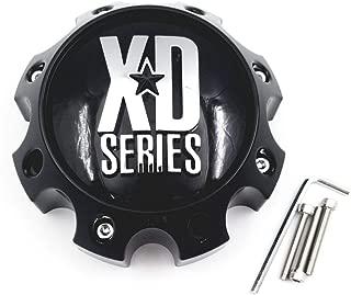 KMC XD Series 1079L170 LG1301-05 1079L170GB Gloss Black 8 Lug Center Cap