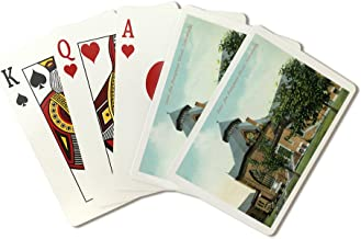 Schenectady, New York - Presbyterian Church View from Union Ave (Playing Card Deck - 52 Card Poker Size with Jokers)