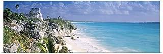 GREATBIGCANVAS Poster Print El Castillo Quintana Roo Caribbean Sea Tulum Mexico by 48