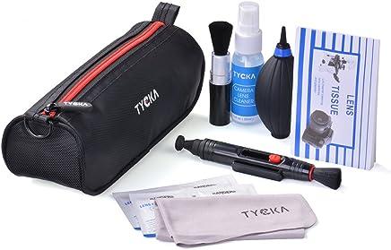 Tycka 8点セット カメラクリーニングキット メンテナンス&清掃用品 防水袋付き DSLR レンズおよび電子機器用 TK004