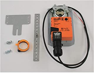 Belimo AMB24-3 Damper Actuator, On/Off, Floating Point, Non-Spring Return, 3 Ft, 18 Ga Plenum Rated Cable, Protected Nema 2, 24 V