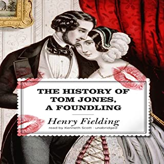 The History of Tom Jones, a Foundling audiobook cover art