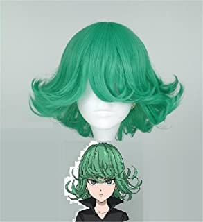 One-Punch Man Anime Tatsumaki Cosplay Wig Party Hair