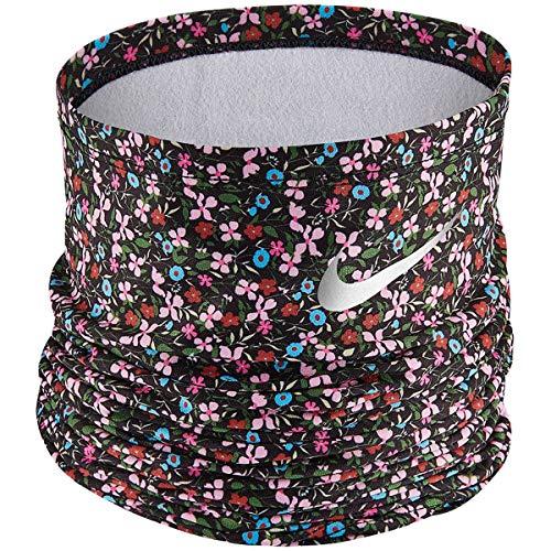 Nike Fascia Bandana Scaldacollo Running Wrap Multiuso Black/Pinksicle/Silver