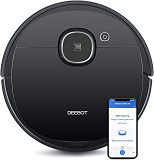 Ecovacs DEEBOT OZMO 920 2-in-1 Vacuuming and Mopping Robot with Smart Navi 3.0 Systematic Cleaning, Multi-Floor Mapping, C...