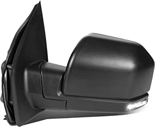 DNA Motoring TWM-058-OE-T888-BK-CL-L Powered+Heated+LED Signal Factory Style Side Mirror Left