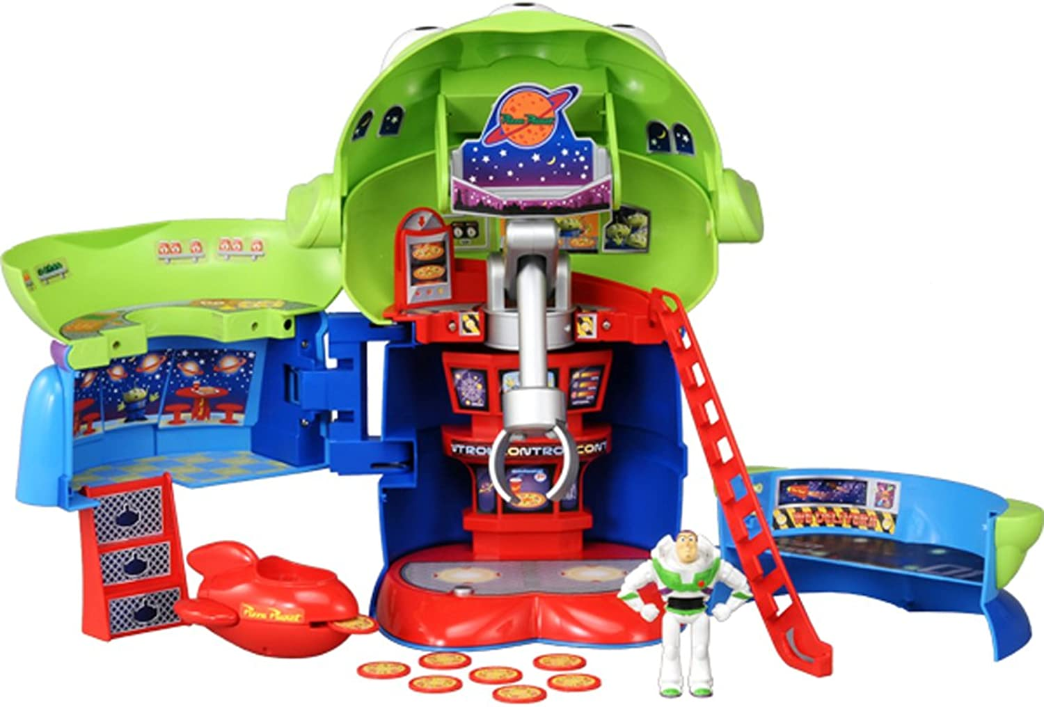Disney Toy Story rapidly transformed into a chat collection Pizza Planet  alien