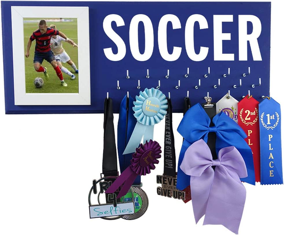Medal Bombing Max 42% OFF free shipping Display - Soccer Showcase All Awards Your Trophy
