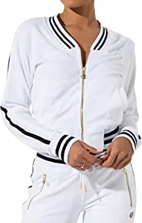 Women's Terry Cloth Warm-up Jacket