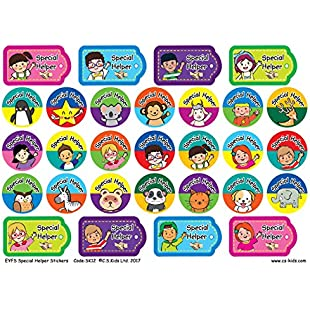 C.S. Kids EYFS Special Helper Stickers (Pack of 174)