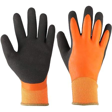 Guantes de trabajo impermeables, guantes de algodón para el invierno, montar a caballo, correr, esquiar, escalar, conducir(L)