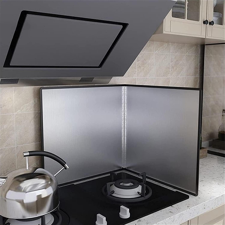 Max 88% OFF BCHDREUU0819 Splatter Guard Stove Sheet Mesa Mall Heat Insulation Foldable