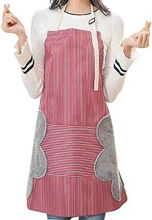 rosso scuro unisex. TRIXES Grembiule professionale da chef senza pettorina