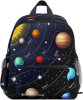 Toprint Solar System Planets Kids Backpack Toddler Girls Boys Preschool School Bag Casual Travel Daypack Bookbag Schoolbag...