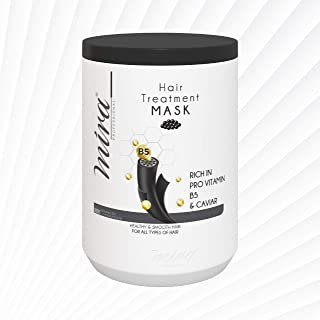 Mira Hair Treatment Mask rich in Pro Vitamin B5 and Caviar 1000ml (for all hair types)