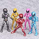 Jubasix Action Figures Toy 5 Pieces - PowRan Action Figure Super Heroes Set - Toys Play Gift Game - Super Heroes Toys 3.5-inch Toys PVC Action Figures 6pcs/Set