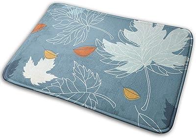 """Autumn Turning to Winter Foliage Indoor Doormat Front Back Door Mat,23.6""""x15.8"""" Mat Non Slip Large Door Rug"""