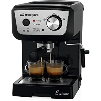 Orbegozo EX 5000 - Cafetera para espresso y cappucino, depósito 1 ...