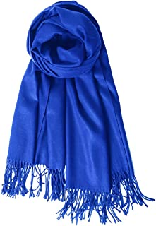 Womens Large Soft Wedding Evening Pashmina Shawls Wraps Scarfs Christmas Gifts for Women
