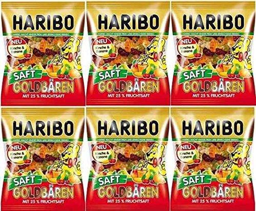 HARIBO ハリボー ジューシーゴールドベアー 175g ×6袋
