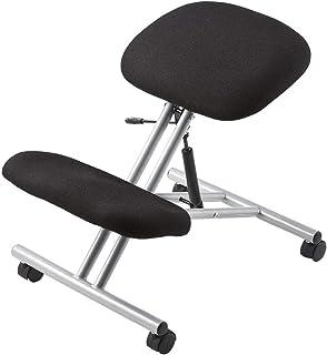 イーサプライ バランスチェア 姿勢矯正 椅子 キャスター ガス圧昇降 高さ調整 耐荷重80kg 腰痛予防 EEX-CH15
