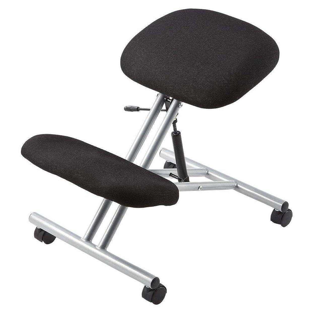 お誕生日答え歴史的イーサプライ バランスチェア 姿勢矯正 椅子 キャスター EEX-CH15