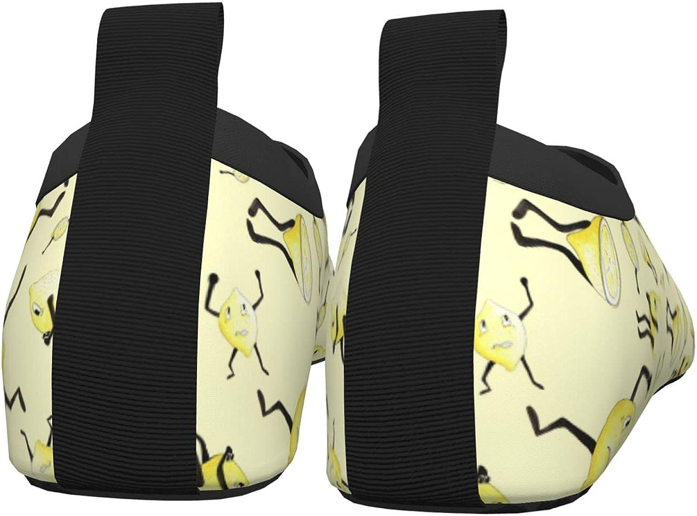Jedenkuku Lemon Fruit (95) Children's Water Shoes Feel Barefoot for Swimming Beach Boating Surfing Yoga