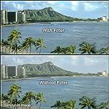 Tiffen Haze Filters Camera Lens Sky & UV Filter, Black (95CHZE)