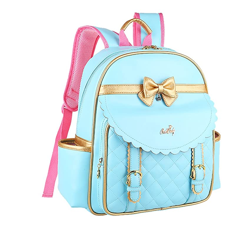 Tusong Waterproof Backpack Princess Children School Bags Handbag for Girls Students