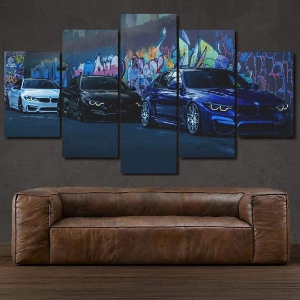 TBNO1 - Ranking TOP14 Canvas Wall Virginia Beach Mall Art Abstract Power Painting Car M Pri Poster