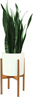 Fox & Fern Mid-Century Modern Plant Stand - Bamboo - EXCLUDING 10